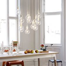 pendant lamp e27 socket led from muuto in combination a dream team