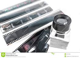 Film Strips Pictures Slide Loupe And Film Strips Stock Photo Image Of Front Classic