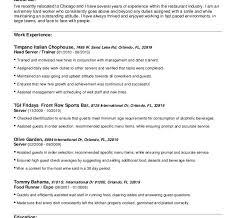 download food runner resume - Food Runner Resume Sample