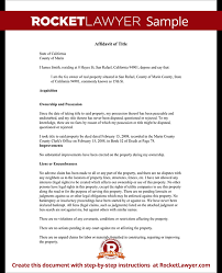 sample title affidavit of title affidavit of title template with sample