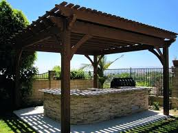 timber outdoor kitchen gazebo designs frame or pergola kit plan an intended for pergolas and gazebos
