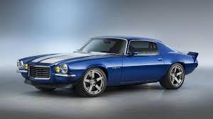 Chevy showcases 650-hp LT4 crate engine in 1970 Camaro RS at SEMA ...
