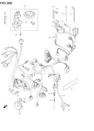 2007 suzuki sv650 wiring harness (sv650k7) parts best oem wiring Home Fuse Box at Sv650 Fuse Box Under Rear Sea