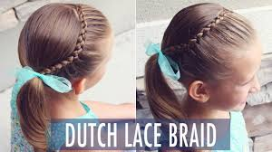 Lace Hair Style how to dutch lace braid great beginner hairstyle for all ages 4194 by wearticles.com