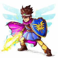 Dragon Quest Design 83 The Hero Aka Erdrick The Main Protagonist Jorge Marme
