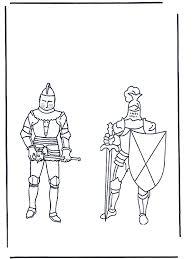 Kleurplaten Ridders Kleurplaten Ridders