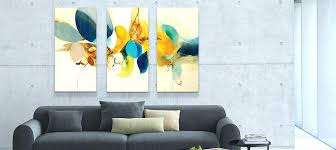 horizontal vertical square panoramic abstract canvas art prints large for three piece