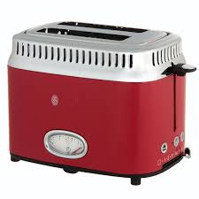 Купить <b>Тостер Russell Hobbs Retro</b> Ribbon Red 21680-56 в ...
