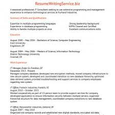 It Consultant Resume New Information Technology Consultant Resume