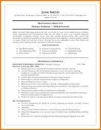 Awesome Collection Of Summary Qualifications Resume Pharmacy