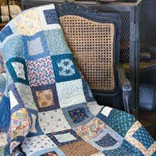 Moody Blues: Fast Scrappy One Block Lap Quilt Pattern | patchwork ... & Moody Blues: Fast Scrappy One Block Lap Quilt Pattern Adamdwight.com