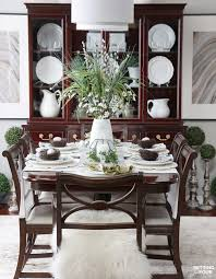 decorating your dining room. How To Decorate Your Dining Table For Spring! Www.settingforfour Decorating Room N