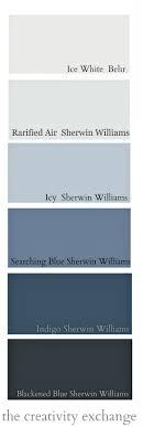 grey blue paint colorsLayering Indigo Black and Gray Moody Monday  Gray paint colors