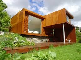 Simple modern home design Flat Roof Dornob Small Not Simple Minimalist Modern Modular Home Design