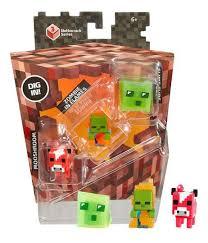 Купить игровой <b>набор Mattel Набор</b> из 3-х <b>Фигурок</b> Minecraft ...