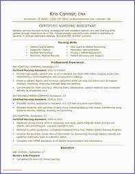 Cna Resume Hospital Experience Professional Cna Resumes Selo L Ink