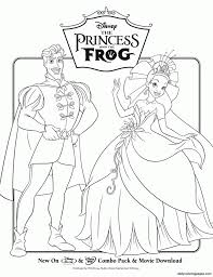 Small Picture The Princess and the Frog Disney Princess Free Printable Coloring