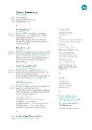 Resume Great Resume Design