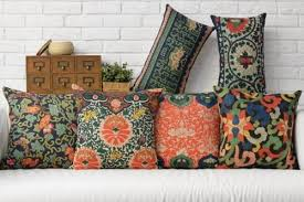 oriental throw pillows. Wonderful Pillows Ethnic Aztec Linen Cushions Cover Chinese Oriental Decorative Throw Pillows  Cases Vintage Floral Home Decor Lumbar Casein Cushion From  Inside E