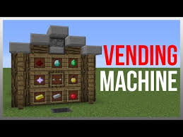 How To Make Vending Machine In Minecraft Pe Beauteous Minecraft 4848 Redstone Tutorial Vending Machine V48 48fps