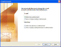 new outlook setting up your e mail in microsoft outlook