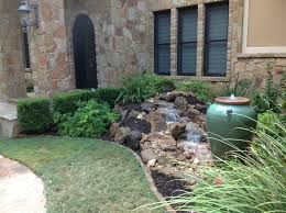 Small Picture Christas Front Yard Waterfall and Bubbling Urn Water Feature