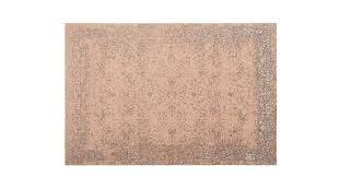 yolanda large faded persian jacquard rug 160 x 230 cm dusky pink made com
