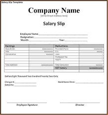 Format Salary Slip Best Salary Slip Format For It Company Kenicandlecomfortzone