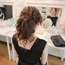 Moriyama Mamiさんのヘアスタイル 結婚式お呼ばれヘアセット