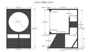 Pa Subwoofer Cabinet Design Free Speaker Plans J Bin Reflex Horn 1 5 Speaker