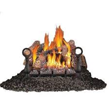 18 in vent free natural gas log set