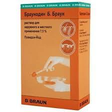 <b>Браунодин</b> Б.Браун, <b>раствор 7</b>,<b>5</b>%, <b>100</b> мл - купить, цена и ...