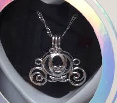 love wish purity girls princess pumpkin carriage love pearl kit w pendant necklace gift box com