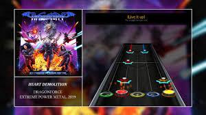 Heart Demolition Dragonforce Clone Hero Chart Preview