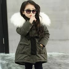 toddler baby girls fur hooded tops jacket fashion
