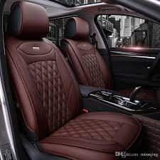 luxury pu leather car seat covers full set for general 5 seat car use mg toyota mazda buick audi ford cadillac bmw volkswagen custom infant car seat covers