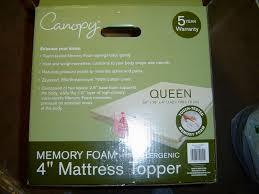 What a crock Walmart Canopy Memory Foam Mattress Topper Review