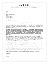 Do I Need A Cover Letter For My Resume Media Manager Cover Letter 75
