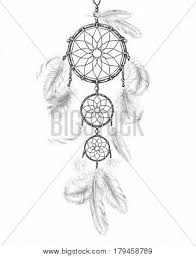 Dream Catchers Sketches Hand Drawn Indian Amulet Dream Vector Photo Bigstock 98