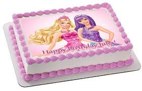 Barbie Princess And The Popstar 1 Edible Cake And Cupcaketopper