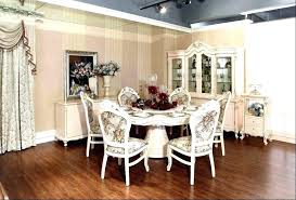 white dining table set with bench white round dining table room wood seat chair electric fireplace