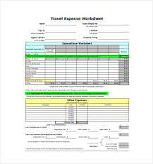 Monthly Expenses Report Extraordinary 48 Expense Sheet Templates Free Sample Example Format Download