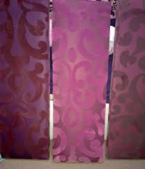 3 Big Next Canvases Wall Art Purple Magenta Plum Aubergine Satin With  Aubergine Wall Art (