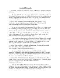 emmanuel melendez annotated bibliography 6195 sonnet 130 analysis essay 1 20