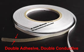 5 Rolls 8mm 20m 2 Sided Adhesive 2 Sides Conductive Fabric Tape