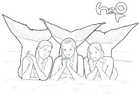 Coloring Pages Of Real Mermaids Detailed Mermaid Coloring Pages