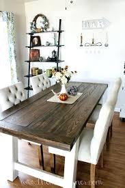 farmhouse round table farmhouse dining table plans best farmhouse dining tables ideas on intended for table