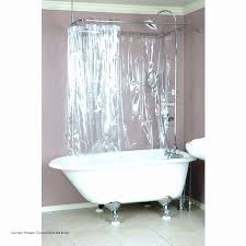 curved shower curtain rod awesome best shower curtain for clawfoot tub shower curtain rod clawfoot