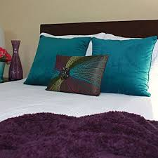 Peacock Bedroom Idea! Exactly What I Want. White Comforter And The Jewel  Tone Accents