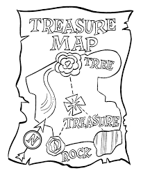 Small Picture Pirate Treasure Map Coloring Pages AZ Coloring Pages Coloring Kids